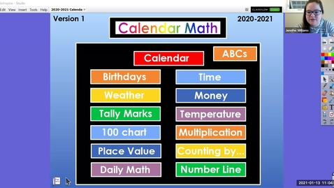Thumbnail for entry 1.13.21 Recorded Math Lesson