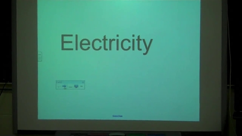 Thumbnail for entry 4th Electricity Science - ASL
