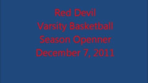 Thumbnail for entry Red Devil Season Openner
