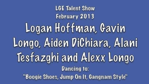 Thumbnail for entry Logan Hoffman, Gavin Longo, Aiden DiChiara, Alani Tesfazghi and Alexx Longo