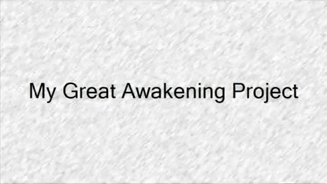 Thumbnail for entry The Great Awakenings Ivan 7RS