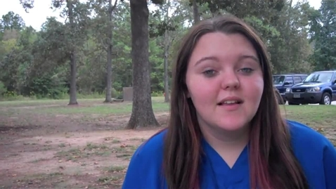 Thumbnail for entry Presidential Debates & Jessica Malloy at New Caney High School