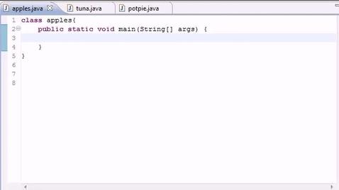 Thumbnail for entry Java Programming Tutorial - 48 - final