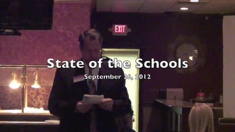 Thumbnail for entry State of the Schools