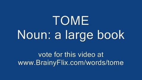 Thumbnail for entry brainyflix TOME