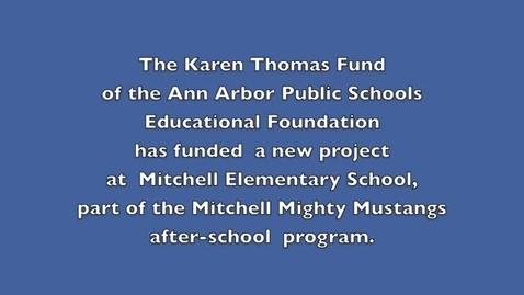 Thumbnail for entry Mitchell Kindergarten Reading Club