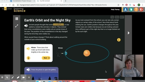 Thumbnail for entry Earth's Orbit and the Night Sky