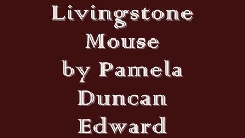 Thumbnail for entry Livingstone Mouse