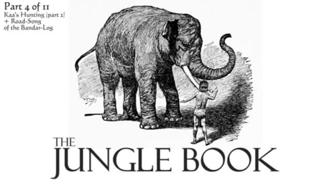 Thumbnail for entry The Jungle Book by Rudyard Kipling - Part 4 of 11 - Kaa's Hunting (part 2) + Road-Song of the Bandar-Log