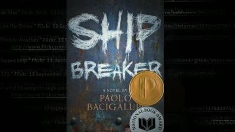 Thumbnail for entry SHIP BREAKER, by Paolo Bacigalupi