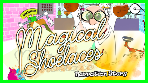 Thumbnail for entry Magic Shoelace Story | Reading aloud | Master Plaster Stories