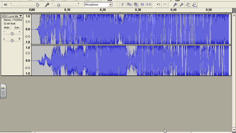 Thumbnail for entry Exporting Audacity as MP3