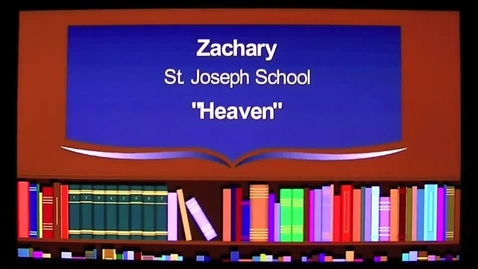 Thumbnail for entry Heaven The 2013 7GP 7th Grade Poetry Contest Winner