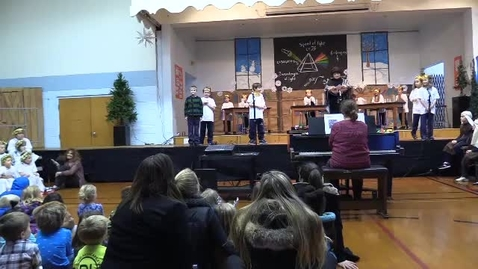 """Thumbnail for entry St. Louis School K-2 Christmas Pageant """"The Light Before Christmas"""" 12-14-17"""