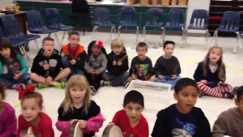 "Thumbnail for entry 14-15 Ms. Weeks' 1st grade class ""I'm Gonna Build a House"" by Dupont/Hiller"