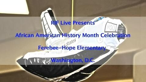 Thumbnail for entry RIF Live - Ferebee-Hope Part 1 of 5