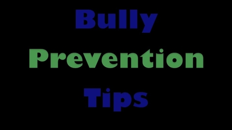 Thumbnail for entry Signs and Effects of Bullying