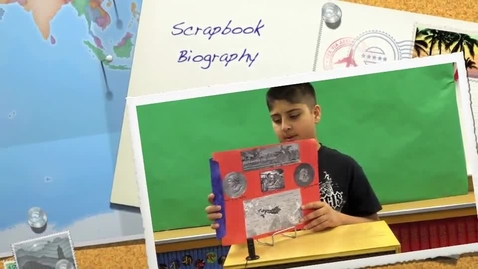 Thumbnail for entry Sahib's Scrapbook Biography Book Report