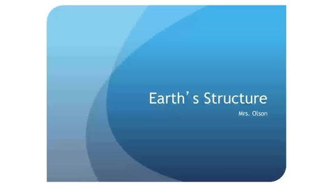 Thumbnail for entry Earth Structure Review
