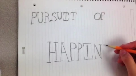 Thumbnail for entry The Pursuit of Happiness