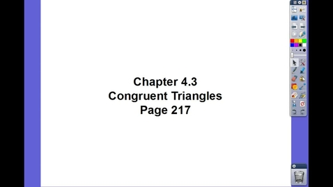 Thumbnail for entry Geometry Ch 4.3
