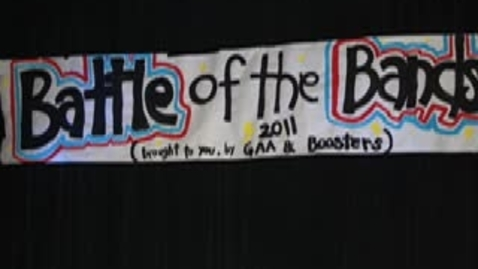 Thumbnail for entry Battle of the Bands Live 11