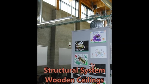 Thumbnail for entry Structural System - Wooden Ceilings