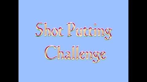 Thumbnail for entry Janae Paul Shot Put Challenge