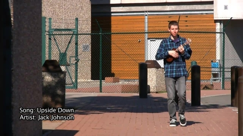 Thumbnail for entry Music Video: Upside Down: By Jack Johnson