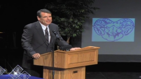 Thumbnail for entry Ladue High School - 2012 Distinguished Alumni, Daniel Estrin