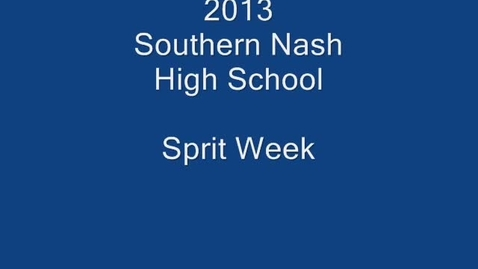 Thumbnail for entry Southern Nash High
