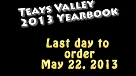 Thumbnail for entry Teays Valley Prom 2013