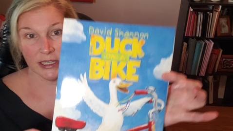Thumbnail for entry Duck on a Bike