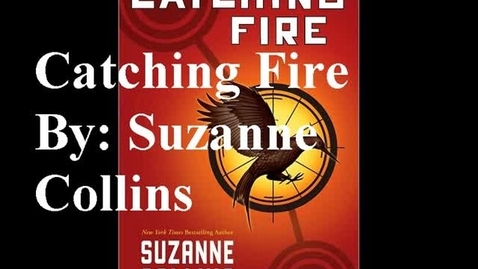 Thumbnail for entry Catching Fire booktrailer