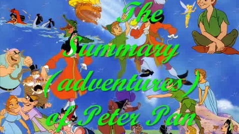 Thumbnail for entry Peter Pan Book Review