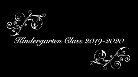 Thumbnail for entry Kindergarten Graduation 19-20