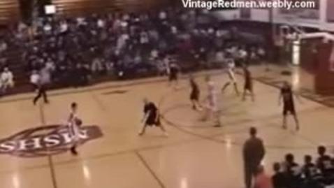 Thumbnail for entry 2008 MSHS Redmen Basketball vs. Houghton