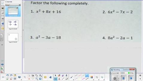 Thumbnail for entry Scatterplots lesson pt 1  9-8-15