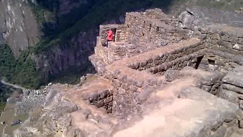 Thumbnail for entry Machu Picchu street level