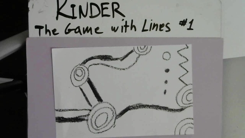 Thumbnail for entry Kinder - The Game with Lines #1 Using the whole paper
