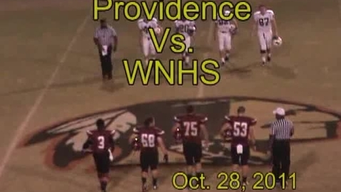 Thumbnail for entry Providence Vs. WNHS
