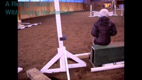 Thumbnail for entry A Riding Lesson With Cathy Henderson