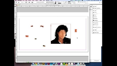 Thumbnail for entry Indesign Skillset Challenge - Using Layers