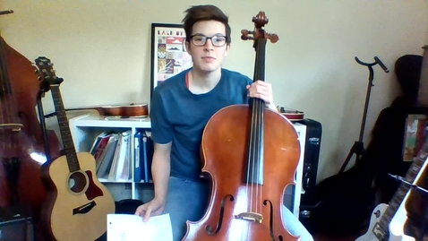 Thumbnail for entry Week 4: 4th/5th Grade Cello Lesson (Pages 36/37 Essential Elements)