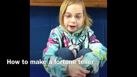Thumbnail for entry How To Make a Fortune Teller