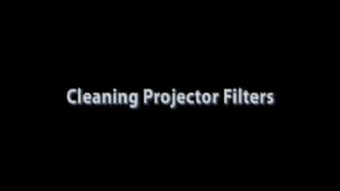 Thumbnail for entry How To Clean Your Projector