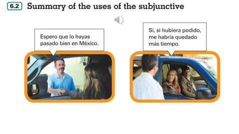 Thumbnail for entry Summary of Subjunctive