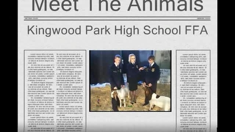 Thumbnail for entry Meet the Animals Videoconference