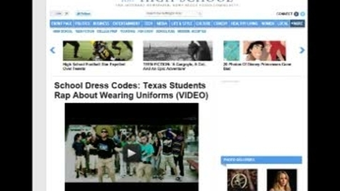 Thumbnail for entry Class's music video published on Huffington Post (rev.)