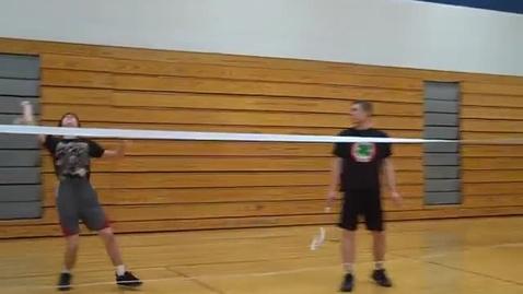 Thumbnail for entry Badminton